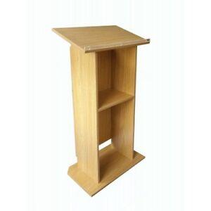 Wood (MDF) Podium Church Pulpit conference Podium Pulpit Lectern Reception Desk
