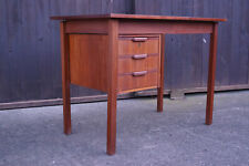 60er Teak Schreibtisch Retro Danish Tisch Büro MidCentury Tibergaard Vintage