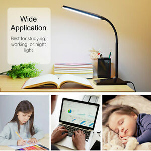 LED Desk Lamp Home Table Lamp 7 Levels Adjustable Light 390lm Base Lamp
