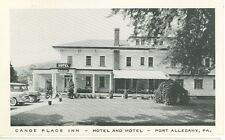 PORT ALLEGANY,PENNSYLVANIA-CANOE PLACE INN-B/W---(RP#1-899)