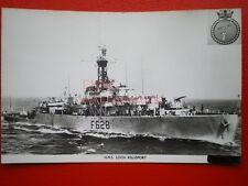 PHOTO  HMS LOCH KILLISPORT (F628) WAS A LOCH-CLASS FRIGATE OF THE BRITISH ROYAL