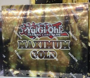 YuGiOh Maximum Gold Booster Box 1st Edition Sealed New 📈🔥