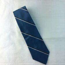 "Mens Necktie Oakton Ltd Blue 55"" Diagonal Pattern"