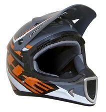 THE Thirty3 Tracer Composite Full Face MTB Helmet - Black/Orange - Large