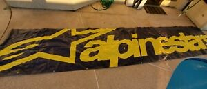 Alpinestars HUGE Racing Autocross Dirtbike Banner 240x48 inches