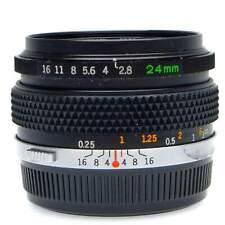 Olympus OM 24mm f2.8 Lens