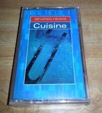 SEVERED HEADS CUISINE CASSETTE 1991 NETTWERK  NEW SEALED  RARE
