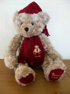 COLLECTABLE HARRODS TEDDY BEAR 1999  -  AS NEW  - TOP QUALITY