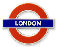 TFL™3003 Licensed London™ Ductile/Rubber Fridge Magnet