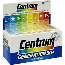 CENTRUM Gen.50+ A-Zink+FloraGlo Lutein Caplette 60St PZN: 0707484