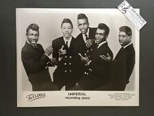 Original 1950s-60s 8 x 10 Publicity Photo Vocal Group Doo Wop R&R The Ojays 50's