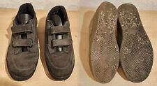 Kinderschuhe,Gr.40,oliv,textil mit Gummisohle und Klettverschlüssen