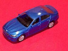 RMZ CITY COLLECTION MINIATURE BMW M5 Blue DIE CAST / PLASTIC PARTS PULL BACK