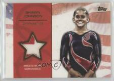 2012 Topps US Olympic Team and Hopefuls Relic Gold /25 Shawn Johnson #OR-SJ