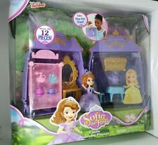 Disney Sofia the First Castle Bedroom Playset w/ Figures & Dolls New in box rare
