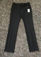 BNWT Paul Smith Black Label Women's Business Woven Wool Trousers Size 44