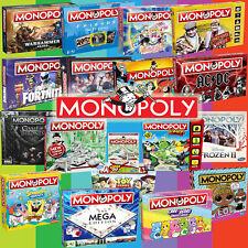 Monopoly Juego de Mesa 2020 Mega Selección - Por Hasbro & Winning Se Mueve