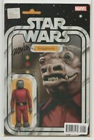 Star Wars #15 Action Figure Variant SIGNED by Mike Mayhew - Snaggletooth - DF