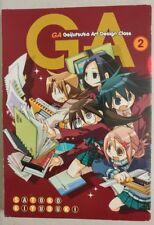 GA Geijutsuka Art Design Class 2 by Satoko Kiyuduki Used Manga