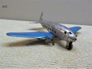 Vintage Wyandotte Pressed Steel Toy AIRPLANE