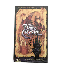 The Dark Crystal VHS. Jim Henson Classic.