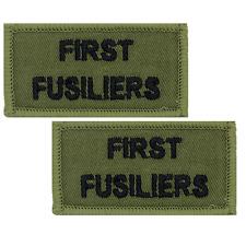 1st Bn RRF Shoulder Flashes