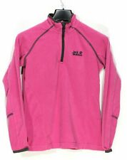 JACK WOLFSKIN Nanuk Damen Fleecejacke Größe 8 XS Polyester Pink me1685