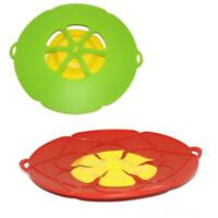 Silicone lid Spill Stopper Cover For Pot Pan Kitchen Accessories Cooking LJ