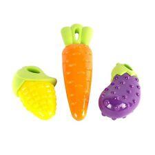 Giocattolo stridulo urlante da masticare per cani Squeaky Toy, Carrot e Corn