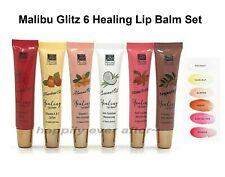 Malibu Glitz Healing Lip Balm - 6 PCs Tinted Lip gloss/ Lip Treatment Set