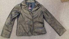Girls Adams gold denim jacket  7 years. Excellent condition.