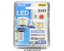 NEW Pilot Automotive 3157 AMBER LED 2-Pack IL-3157A-15 12V 3W Bulb