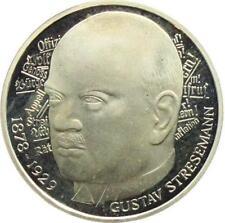 5 DM Gedenkmünze, Gustav Stresemann
