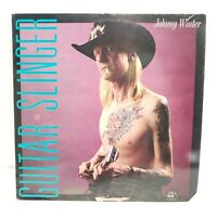 JOHNNY WINTER GUITAR SLINGER VINYL LP