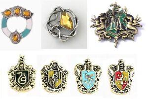 Hogwarts Potter Sytherin Hufflepuff Brooch Badge Pin Broches & Gift Bag