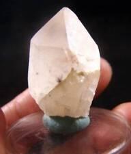 "1.24"" STAR QUARTZ Crystal with Black Hollandite Stars Inside Madagascar #4"