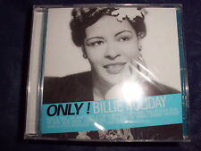 BILLIE HOLIDAY Only! Vocal Jazz/Singer CD 17 Tracks NEU+foliert!!!