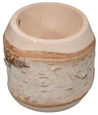 Los abeduIes-vaso birkenbecher vasos de madera la edad media copa d 8 x h 7 cm