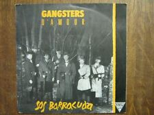 GANGSTERS D'AMOUR JEFF BODART 45 TOURS BELGE SOS ORANGE