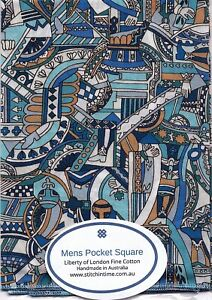 Men's Pocket Square in Liberty of London Fine Cotton