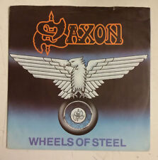 "Saxon Wheels Of Steel Single 7"" UK 1980"