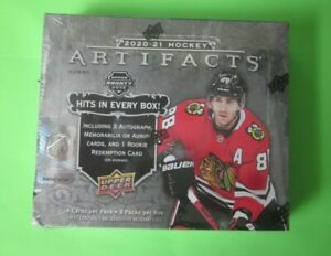 2020-21 Upper Deck Artifacts Hockey Hobby Box