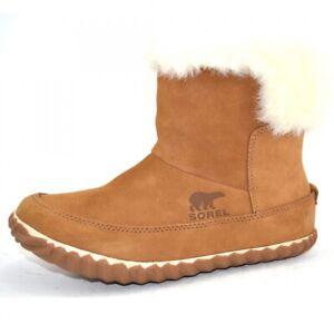 Sorel Out N About Bootie Stiefel Damen Stiefeletten Leder Schuhe