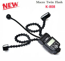 Kakas Macro Twin Lite Flash K-808 Professional Macro Ring Flash Light for DSLR