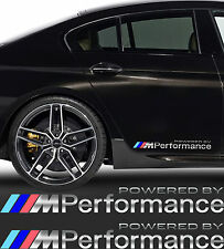 M Performance Aufkleber BMW 2 Stk.SPIEGEL CHROMEFFEKT Folie