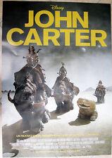 Poster Locandina ORIGINALE JOHN CARTER - Walt Disney Picture Film 2012 - 70x100!