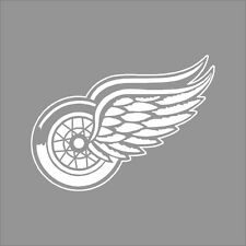 Detroit Red Wings NHL Team Logo 1Color Vinyl Decal Sticker Car Window Wall