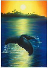 """WYLAND """"NEW DAWN"""" S/N GICLEE ON CANVAS WITH COA"""