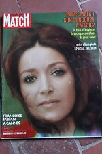PARIS MATCH N°1151 francoise fabian a cannes concorde special aviation