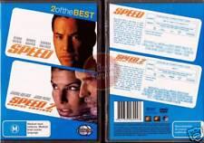 SPEED 1 + 2 CRUISE CONTROL Keanu Reeves Sandra Bullock 2-DVD